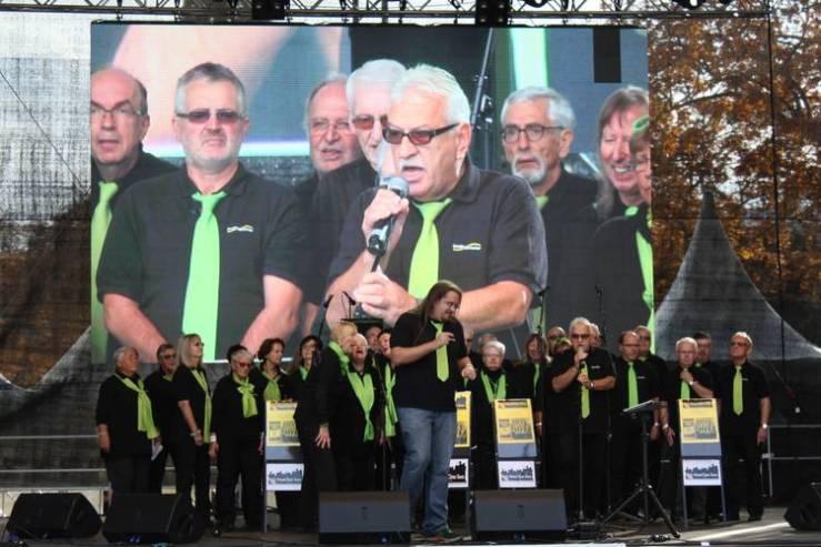 Heartchor-Bürgerfest 60 Jahre Saar-Referendum vom 23. - 24. Oktober 2015
