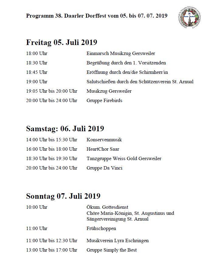 Programm DDF 2019