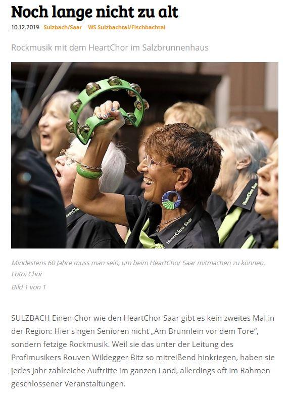 Wochenspiegel Sulzbach Auftritt 11012020-1