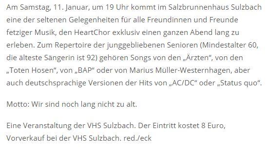 Wochenspiegel Sulzbach Auftritt 11012020-2